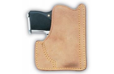 Galco Front Pocket Horsehide Holster Ambidextrous - Nat PH460