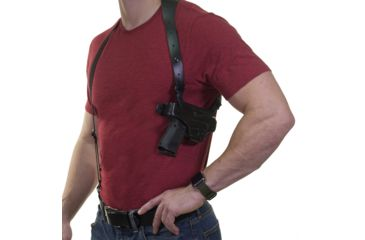 2-Galco Half Harness with Belt Clip