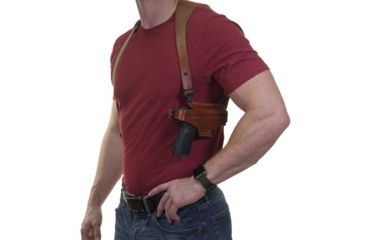3-Galco Half Harness with Belt Clip