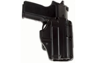 Galco M6X Auto Locking Belt Holster GLOCK - 19, Black, RH M6X226