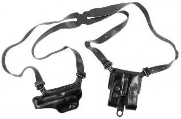 Galco Miami Classic II Shoulder System - Right Hand   - Black MCII224B