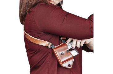 23-Galco Miami Classic II Shoulder Harness System, Leather