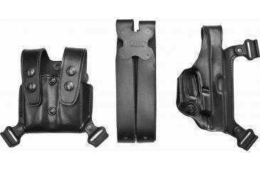 Galco Miami Classic Shoulder Holster System Black Ambidextrous Glock 172231 Mc224b Gc Ht Ecdcec Mc224b