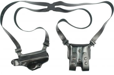 Galco Miami Classic Shoulder Holster System Black Beretta 92-96 MC202B