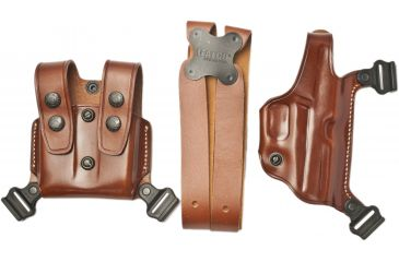 Details about Galco Miami Classic Shoulder Holster System, Tan,  Ambidextrous - Sig 239: MC296