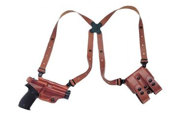 Galco Miami Classic Shoulder Holster System, Tan, Beretta 92/96 MC202