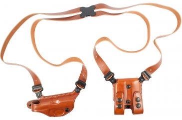 Galco Miami Classic Shoulder Holster System, Tan, Right Hand - S&W 99