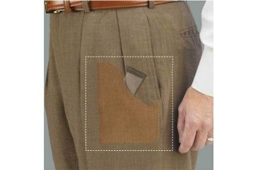 5-Galco Pocket Magazine Carrier Ambidextrous - Natural