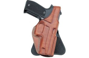 Galco Professional Law Enforcement Paddle Holster, Right Hand, Tan - Colt 5in 1911 PLE212