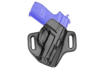 Galco Royal Deluxe Belt Paddle Holster, Right Hand, Black - Sig P229 - RDX250B