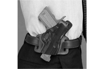 Galco Silhouette High Ride Holster - Right Hand   - Black SIL212B