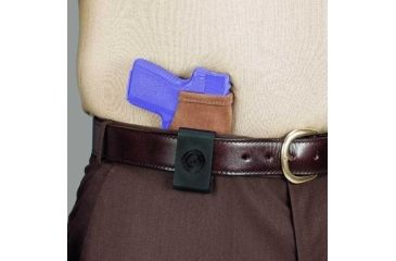 Galco Stow-N-Go Inside The Pant Holster for TAURUS Millennium Pro 9/40, Right Hand, Natural Finish