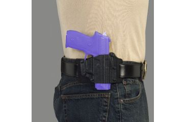 Galco TAC Belt Slide Holster In Use