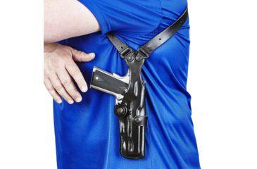 11-Galco Vertical Shoulder Holster System
