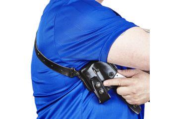 15-Galco Vertical Shoulder Holster System