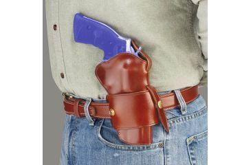 Galco Wheelgunner Belt Holster for 3 inch Taurus Judge