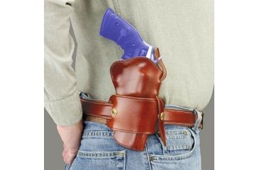 Galco Wheelgunner Belt Holster strong side