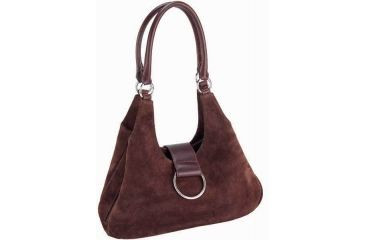 Galco Wisteria Holster Handbag Ambidextrous Brown Wisbrn