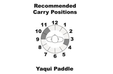 2-Galco Yaqui Paddle Holster for SIG-Sauer P232