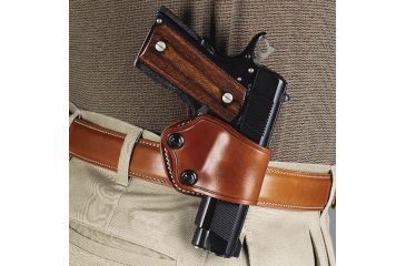 5-Galco Yaqui Paddle Holster for Beretta 92F, FS, and Glock 27