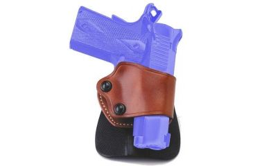 4-Galco Yaqui Paddle Holster for Beretta 92F, FS, and Glock 27