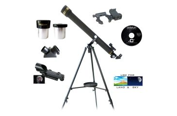 Galileo mmx mm refractor telescope w adapter kit off w
