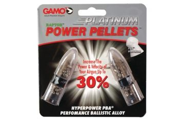 Gamo Air Rifles PBA Platinum Pellets Lead Free .22 Caliber 50 Per Pack 632265554