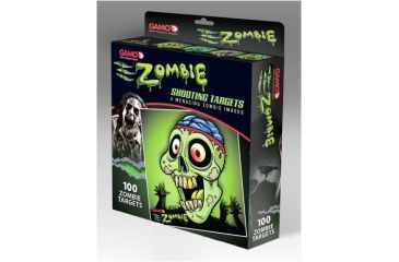 Gamo Zombie Shooting Targets,100 ct