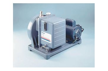 Gardner Denver Welch Vacuum Pumps, Two-Stage Belt-Drive, DUOSEAL Series, Welch 1400B-01 Model 1400 Series — 25 L/min. (0.9 cfm) Free Air Displacement Vacuum Pump
