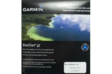 Garmin BlueChart g2 New Caledonia to Fiji v2010.5-v12 microSD Card w/SD Adapter