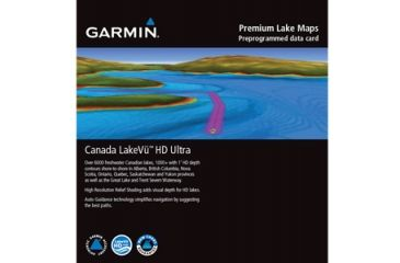 Garmin Canada LakeVu HD Ultra microSD/SD Card 010-C1114-00