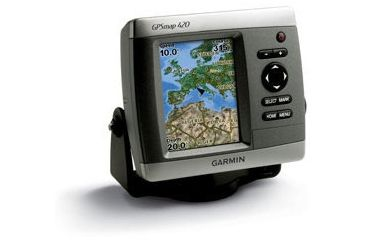 Garmin Chartplotters GPSMAP 420s w/Int GPS ant., worldwide satellite imagery, g2 Vision compatible, without transducer 010-00516-24