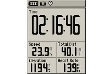 Garmin Edge 305CAD includes speed/cadence sensor 010-00447-00