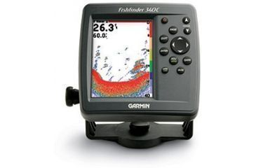 Garmin Fishfinder 340C without transducer GPS Fishfinders 010-00505-00