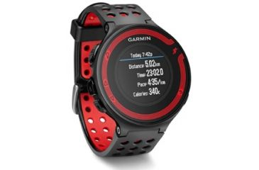 Garmin Forerunner 220 black/red GPS running watch 010-01147-00