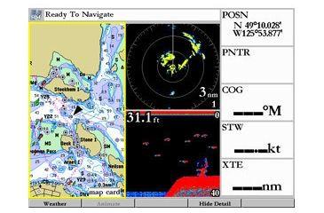 Garmin GPSMAP 3006C w/Ext GPS sensor, worldwide basemap, compatible with BlueChart 010-00348-00