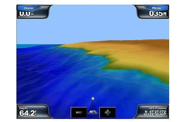 Garmin GPSMAP 5208 w/Ext GPS sensor, worldwide satellite imagery, built-in BlueChart g2 for US coastal, g2 Vision compatible 010-00593-01