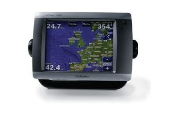 Garmin GPSMAP 5208 w/Ext GPS sensor, worldwide satellite imagery, built-in BlueChart g2 for US coastal, g2 Vision compatible GPS Fishfinders GA-FH-010-00593-01 w/ Free S&H