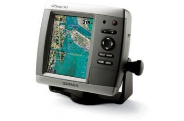 Garmin GPSMAP 545 w/Int GPS ant., worldwide satellite imagery, built-in BlueChart g2 for US coastal, g2 Vision compatible 010-00601-00