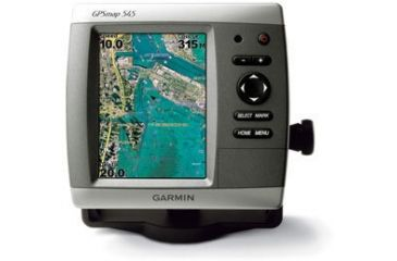 Garmin GPSMAP 545 w/Int GPS ant., worldwide satellite imagery, built-in BlueChart g2 for US coastal, g2 Vision compatible GPS Fishfinders 010-00601-00 w/ Free S&H