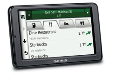 Opplanet Garmin nuvi 2555LMT Search Result Screen View
