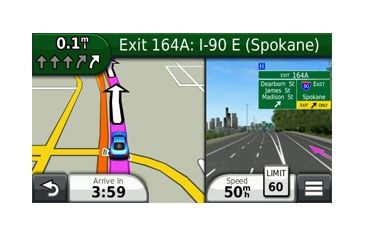 Opplanet Garmin nuvi 2555LMT Main Screen Image