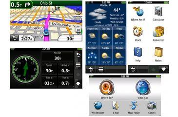 Garmin GPS Device Nuvi 295W Screenshots