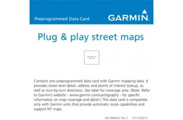 Garmin On the Road Maps GPS City Navigator Canada NT 010-10966-00 w/ Free S&H