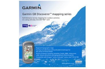 Garmin On the Trail Maps GPS GB Discoverer-Loch Lomond and the Trossachs 010-C0975-00 w/ Free S&H