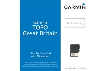Garmin On the Trail Maps GPS TOPO Great Britain - Southern England & Wales 010-C0928-00 w/ Free S&H