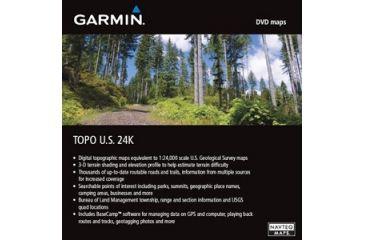 Garmin On the Trail Maps GPS TOPO U.S. 24K West DVD 010-11314-00 w/ Free S&H