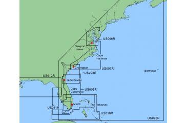 Garmin On The Water GPS Cartography BlueChart: Southeast Coast Map w/ Free S&H