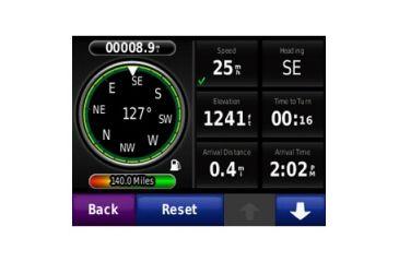 Garmin Motorcycle Zumo 220 GPS System