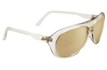 Gatorz Elyclr12c KlEly Clear Frame Gold Chrome Lens Sunglasses
